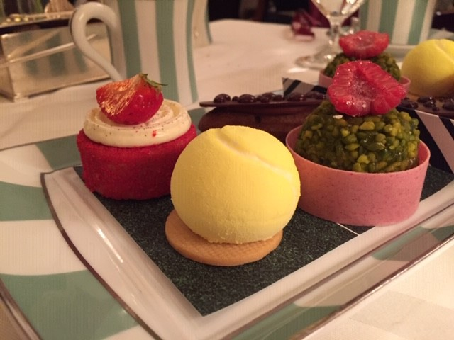 Tennis Ball Pastry